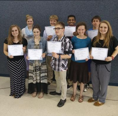Distinguished students honored at Cambridge Christian