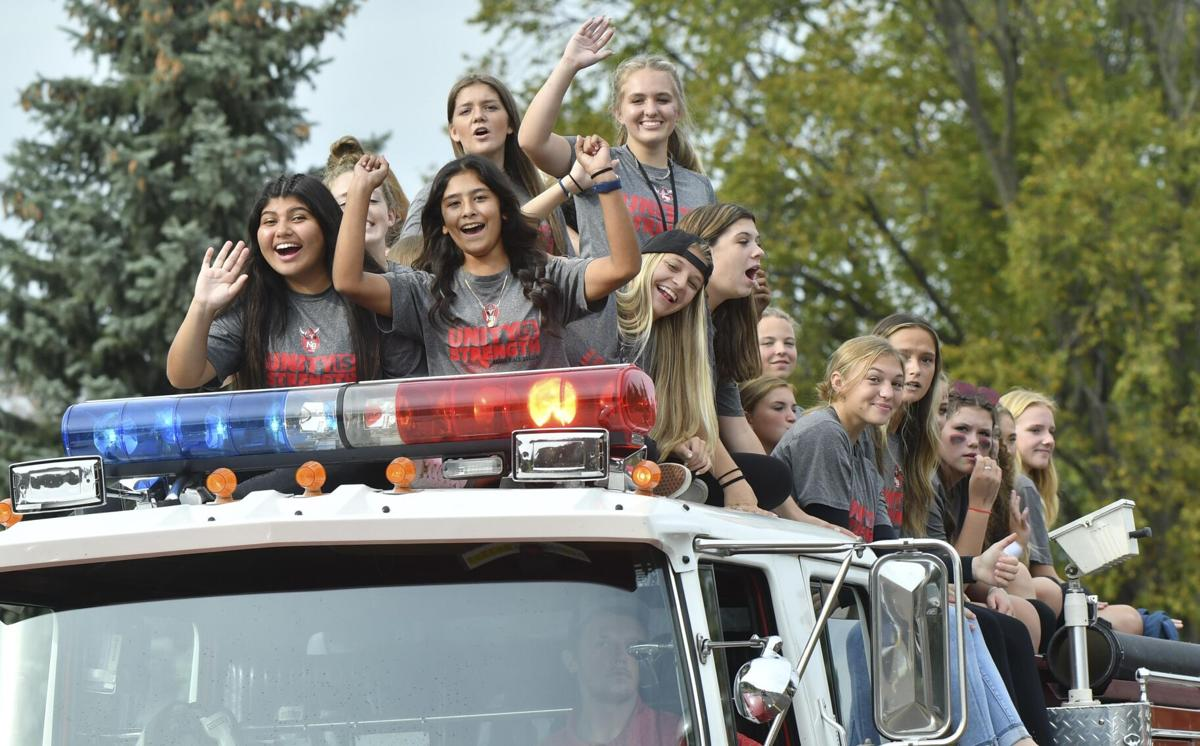 Students revel in the return of Homecoming traditions