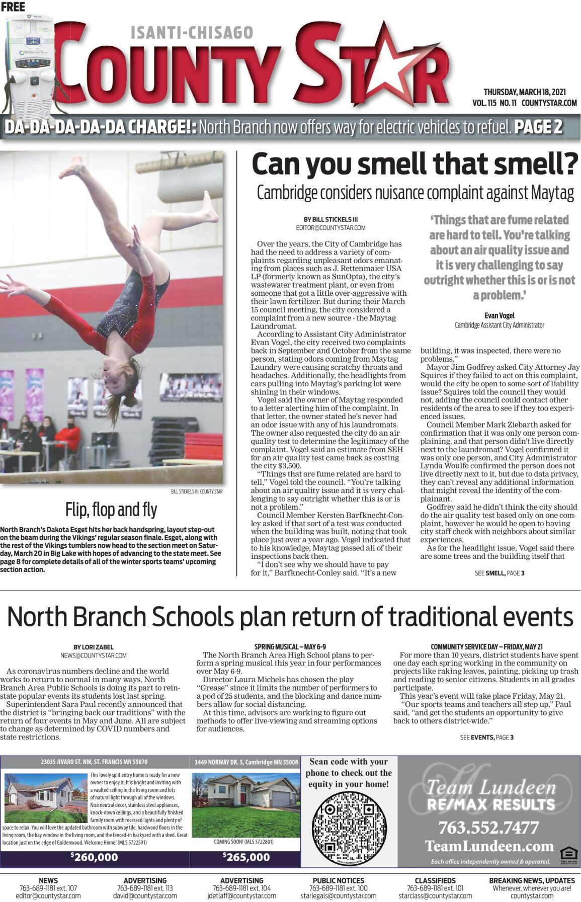 Isanti-Chisago County Star March 18, 2021 e-edition
