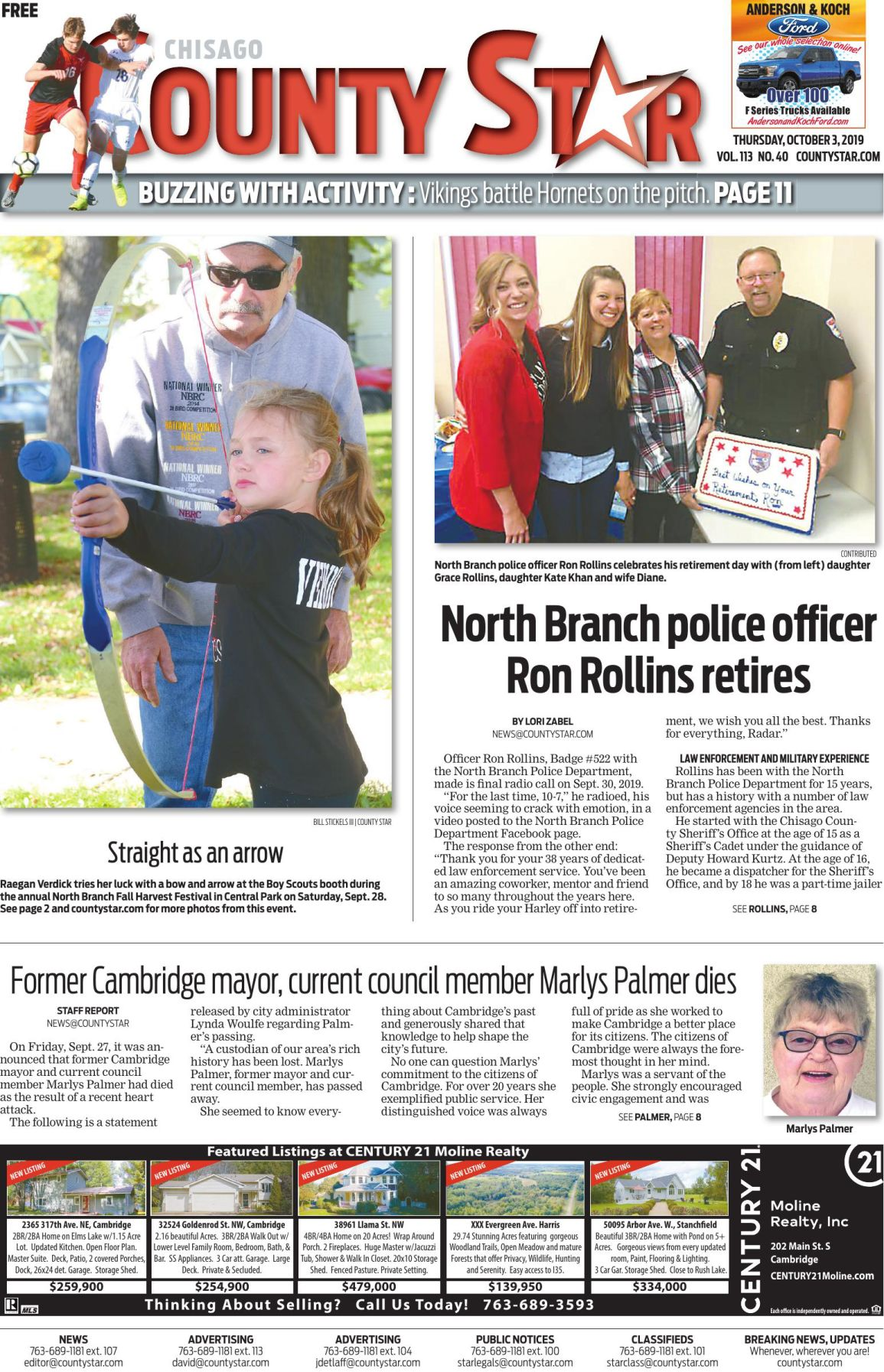 Chisago County Star October 3, 2019 e-edition