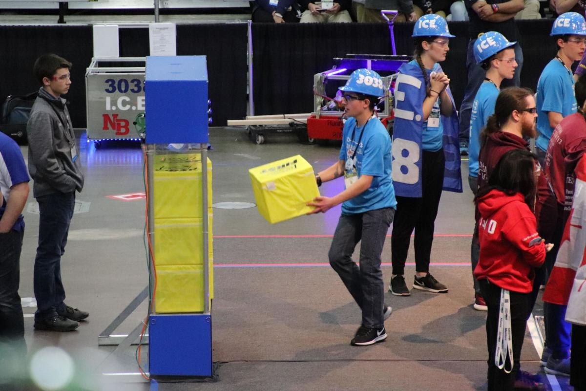 North Branch Robotics takes second in vault at World's