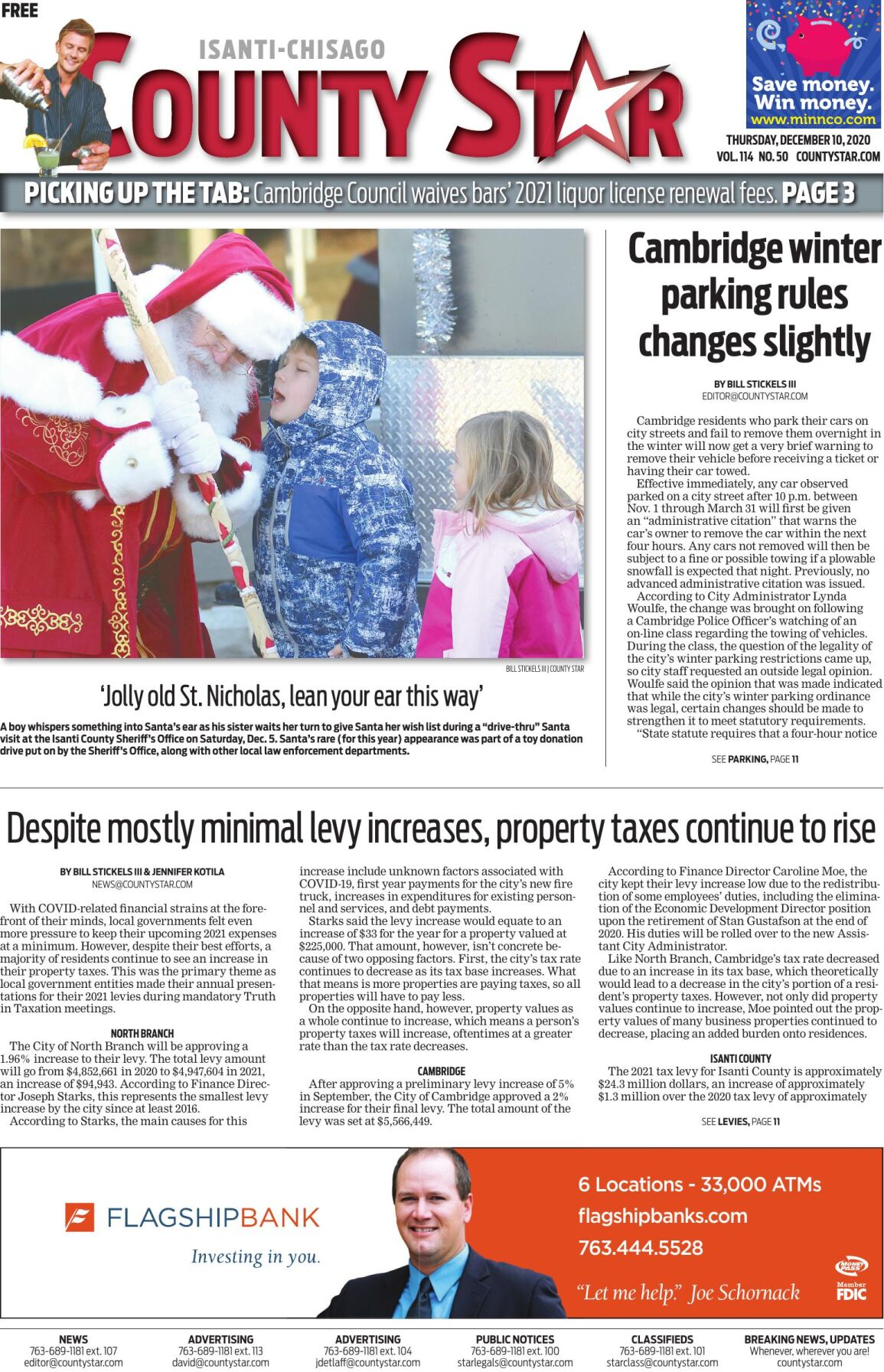 Isanti-Chisago County Star December 10, 2020 e-edition