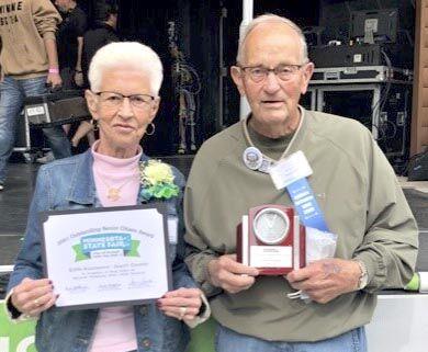 Kounonen named Minnesota's Outstanding Men's Senior Citizen of the year