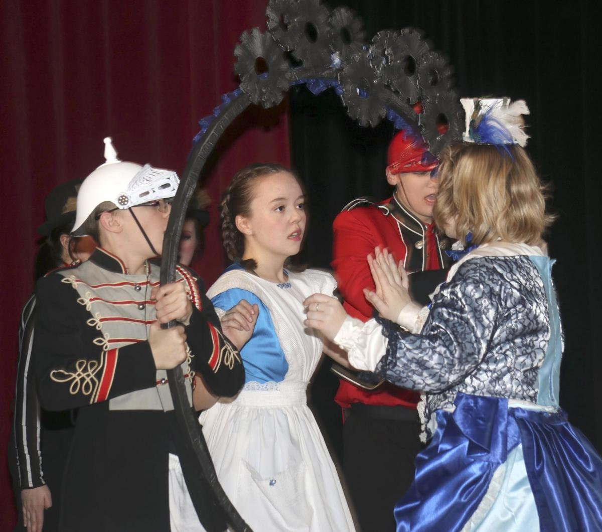 Through the Looking Glass: One Act Play sends Alice back down the rabbit hole