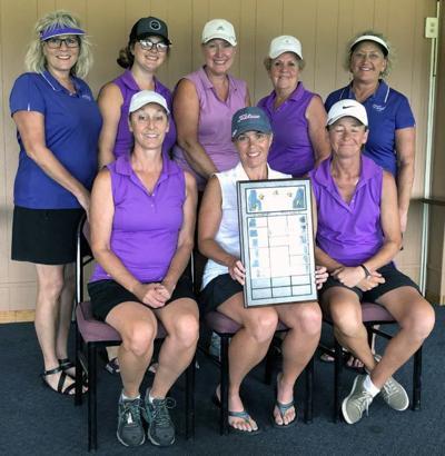 Cambridge tops women's  golf tournament