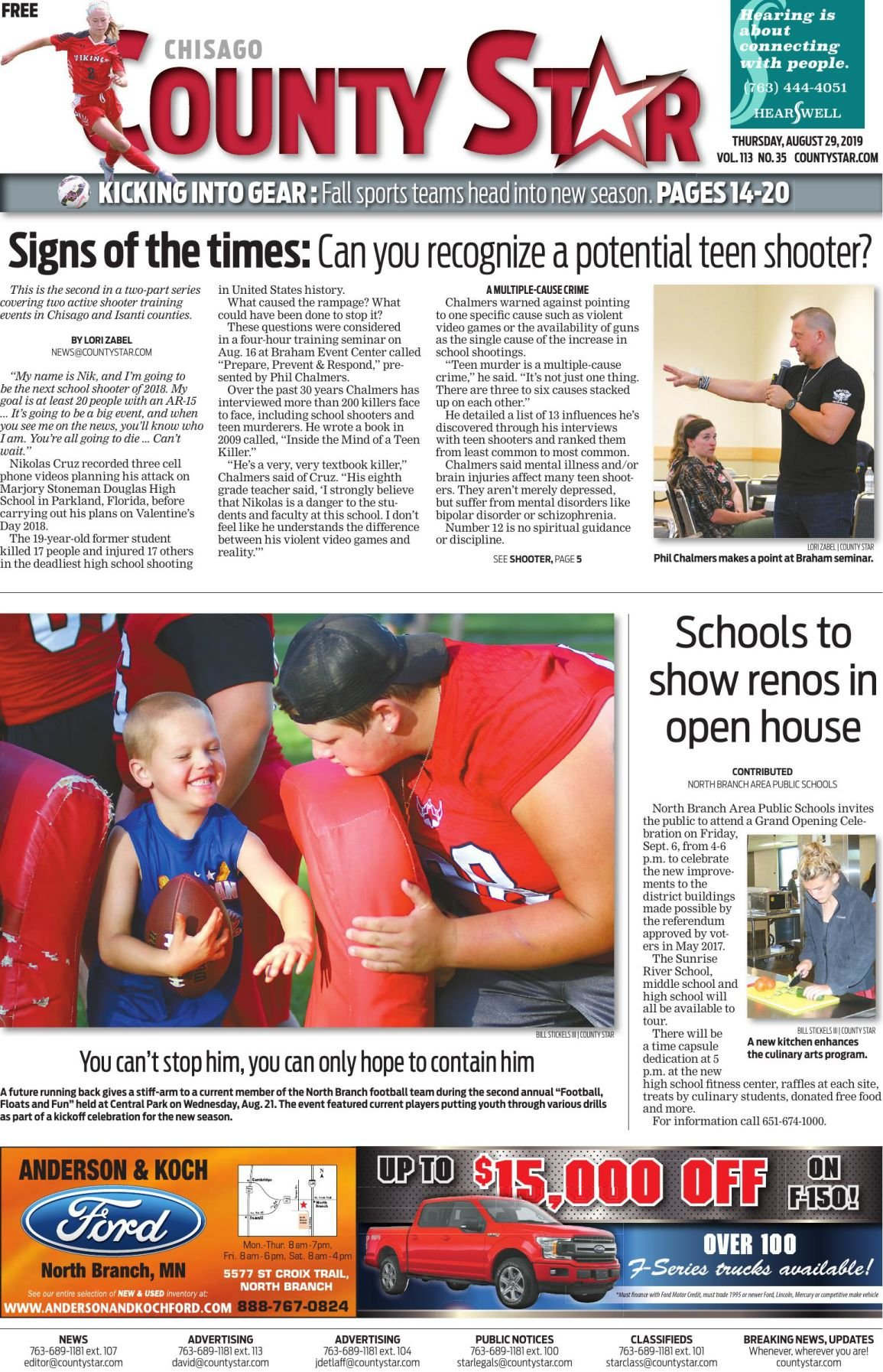Chisago County Star August 29, 2019 e-edition