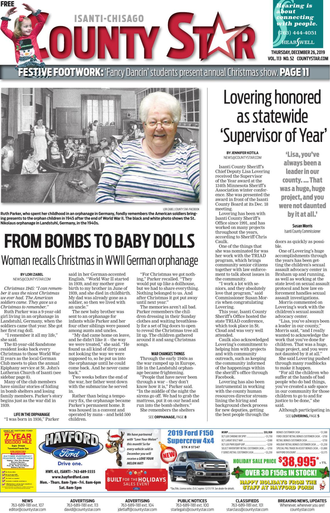 Isanti-Chisago County Star December 26, 2019 e-edition