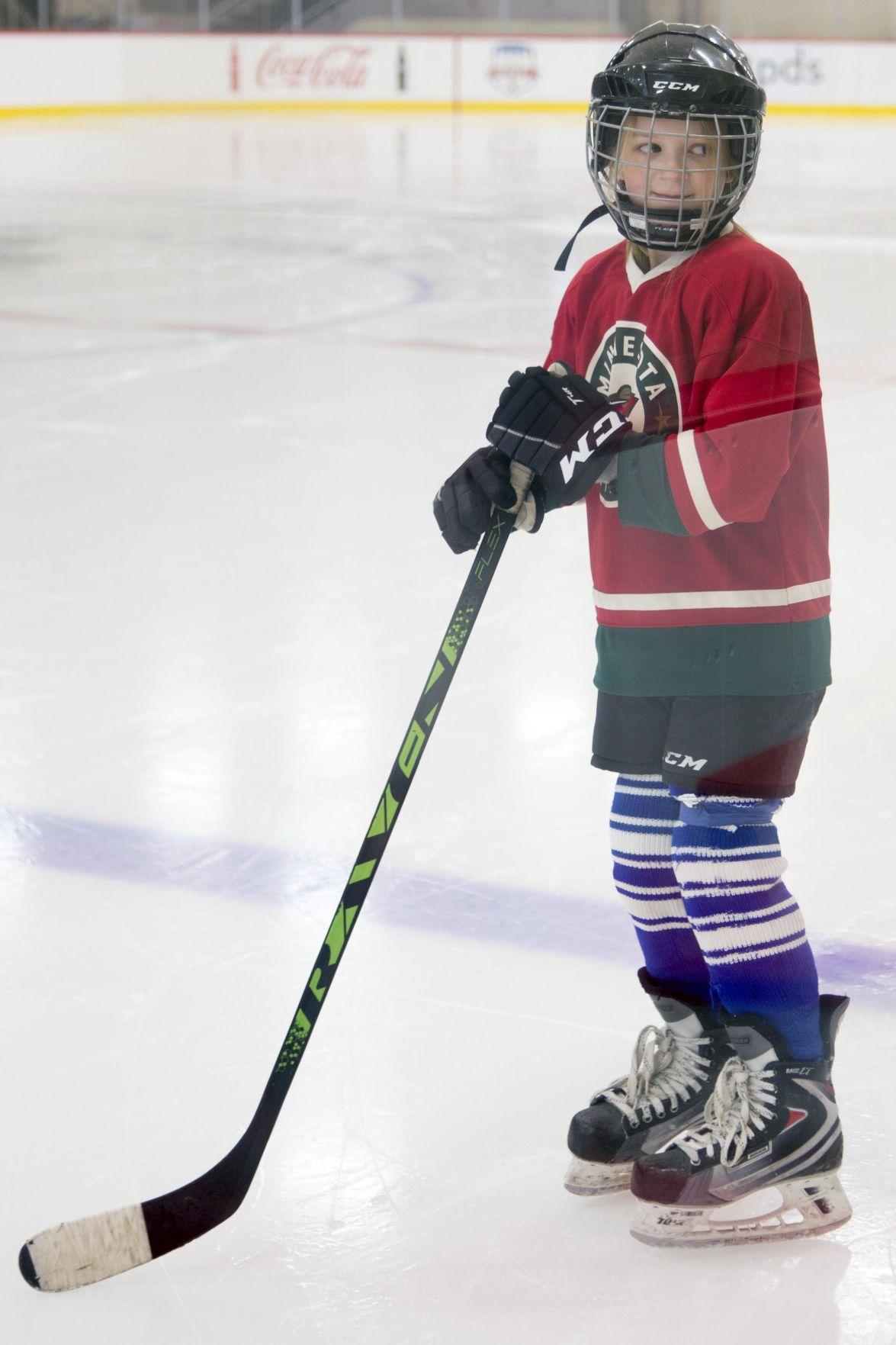 Cambridge girl featured in Minnesota Wild video