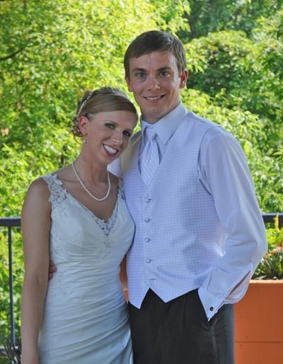 Erin Morley and Travis Christensen