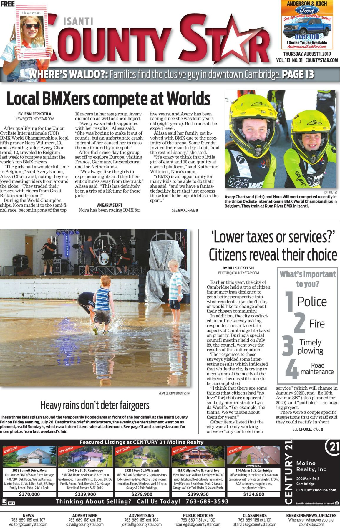 Isanti County Star e-edition August 1, 2019