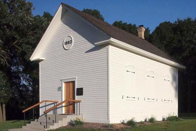 Little church saved and restored brings German heritage to life