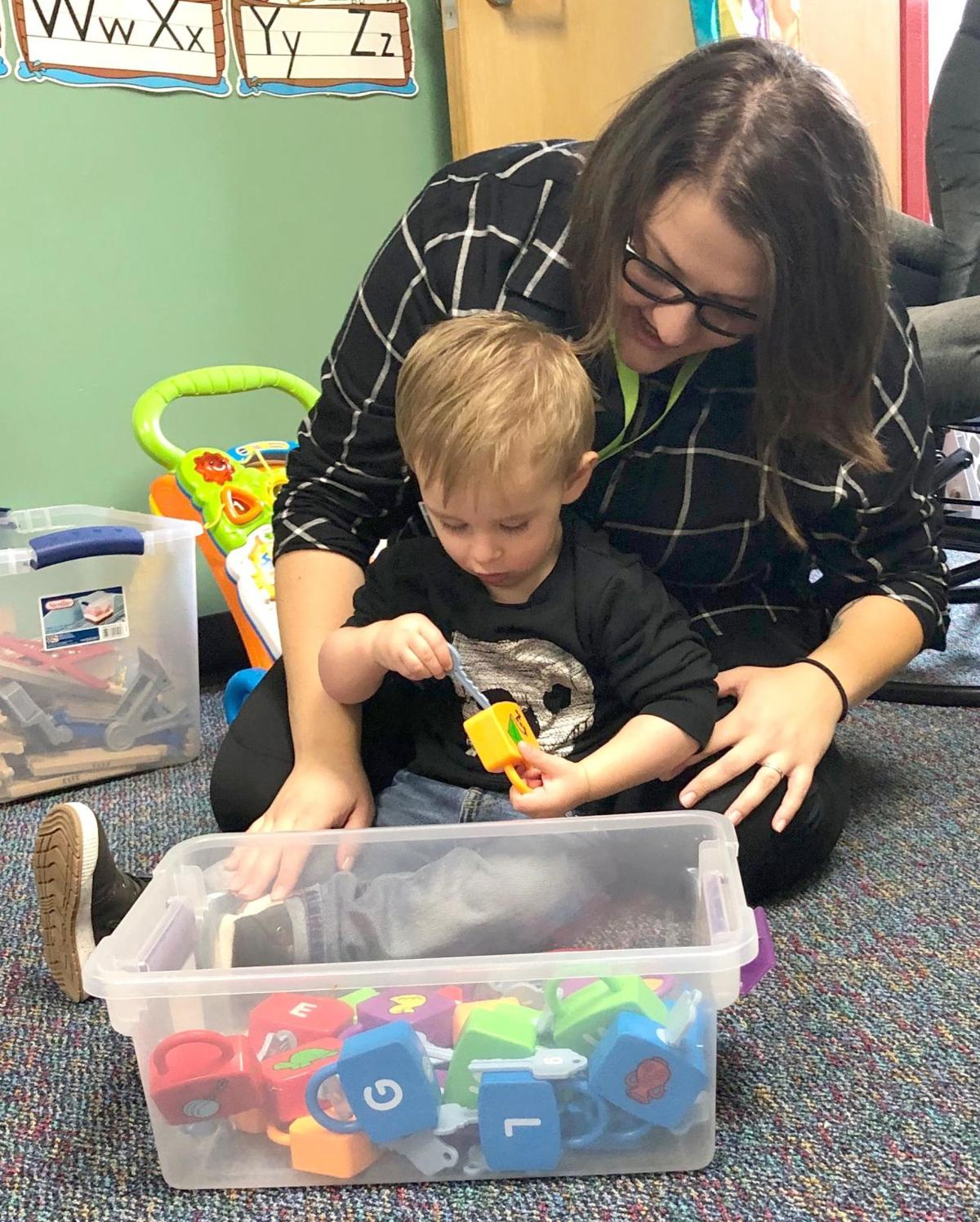 Partnership provides totes and training to benefit kids
