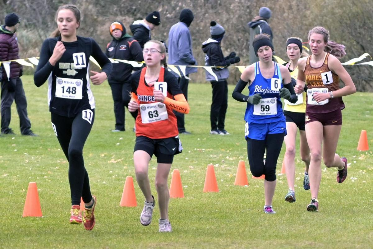 Jackets race against the best at state meet