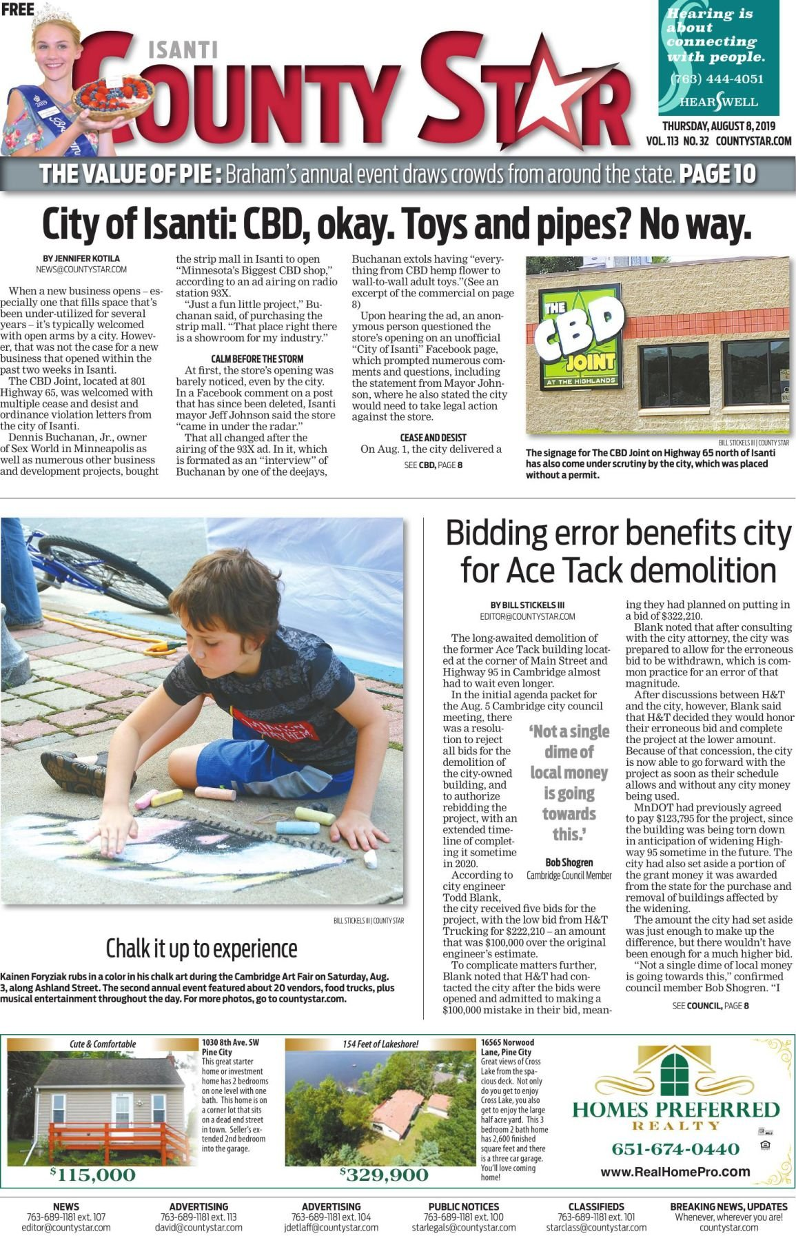 Isanti County Star e-edition August 8, 2019