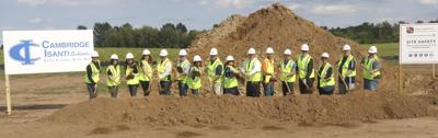 Ground broken for new C-I district building