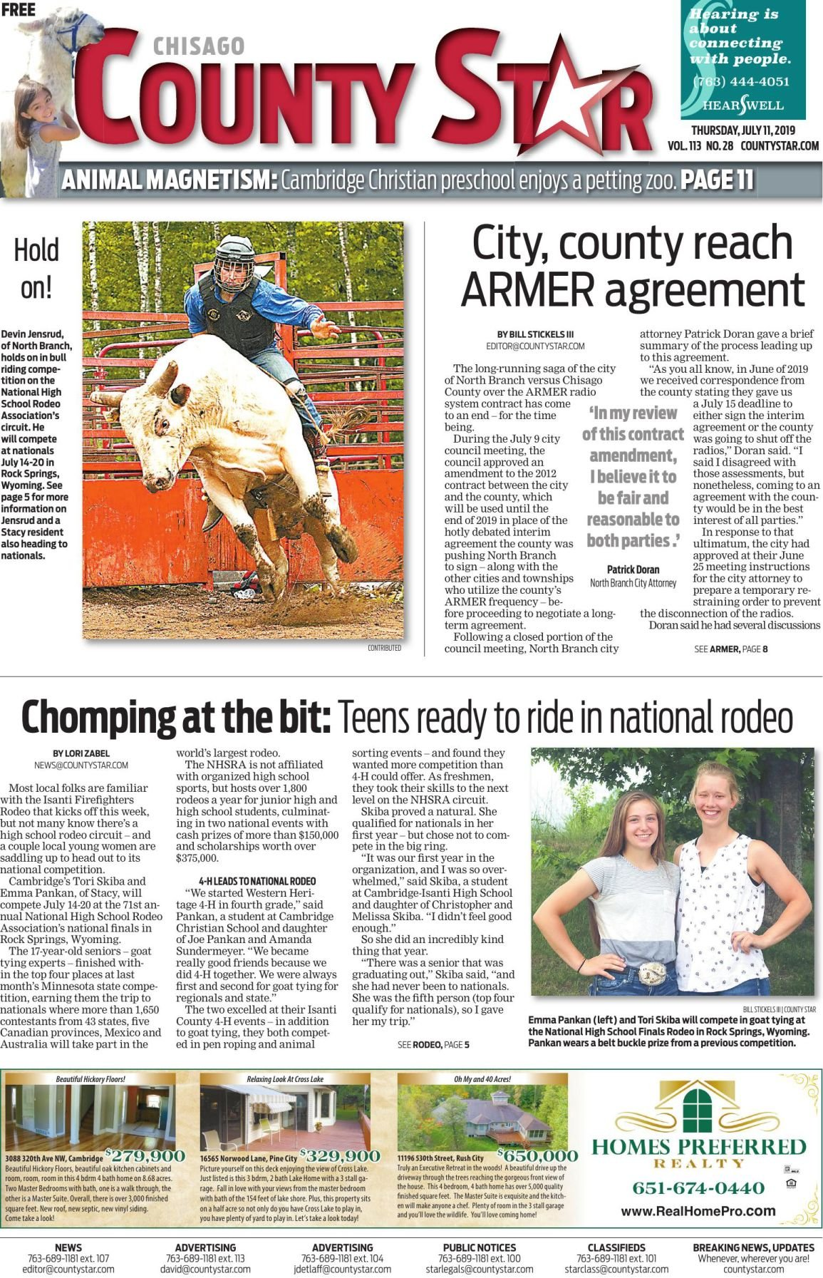 Chisago County Star e-edition July 11, 2019