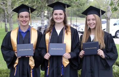 Killing two birds with one stone: Seniors graduate college before high school