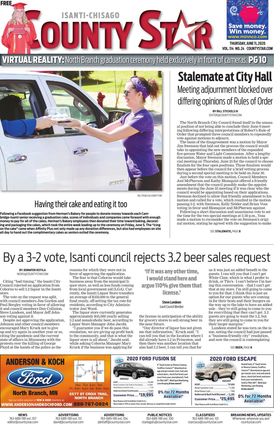 Isanti-Chisago County Star June 11, 2020 e-edition