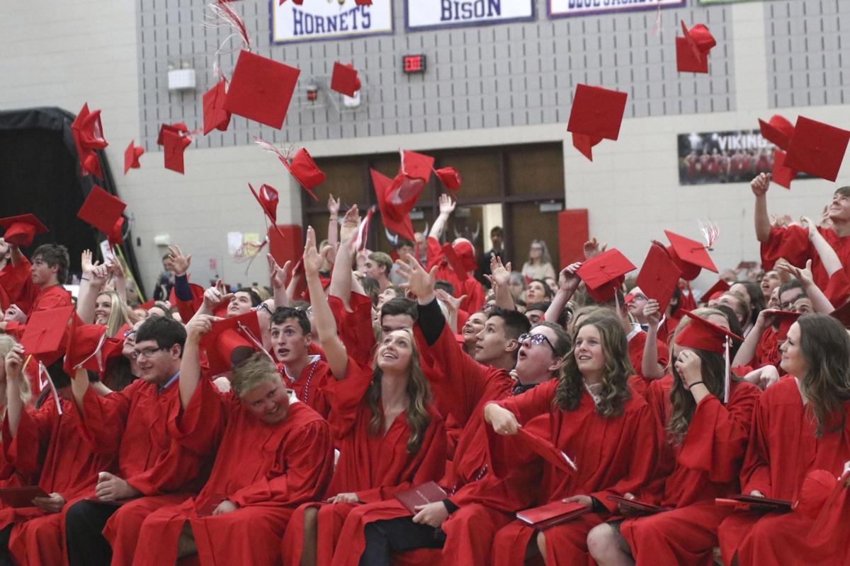 North Branch graduation ceremony offers plenty of pomp, circumstance