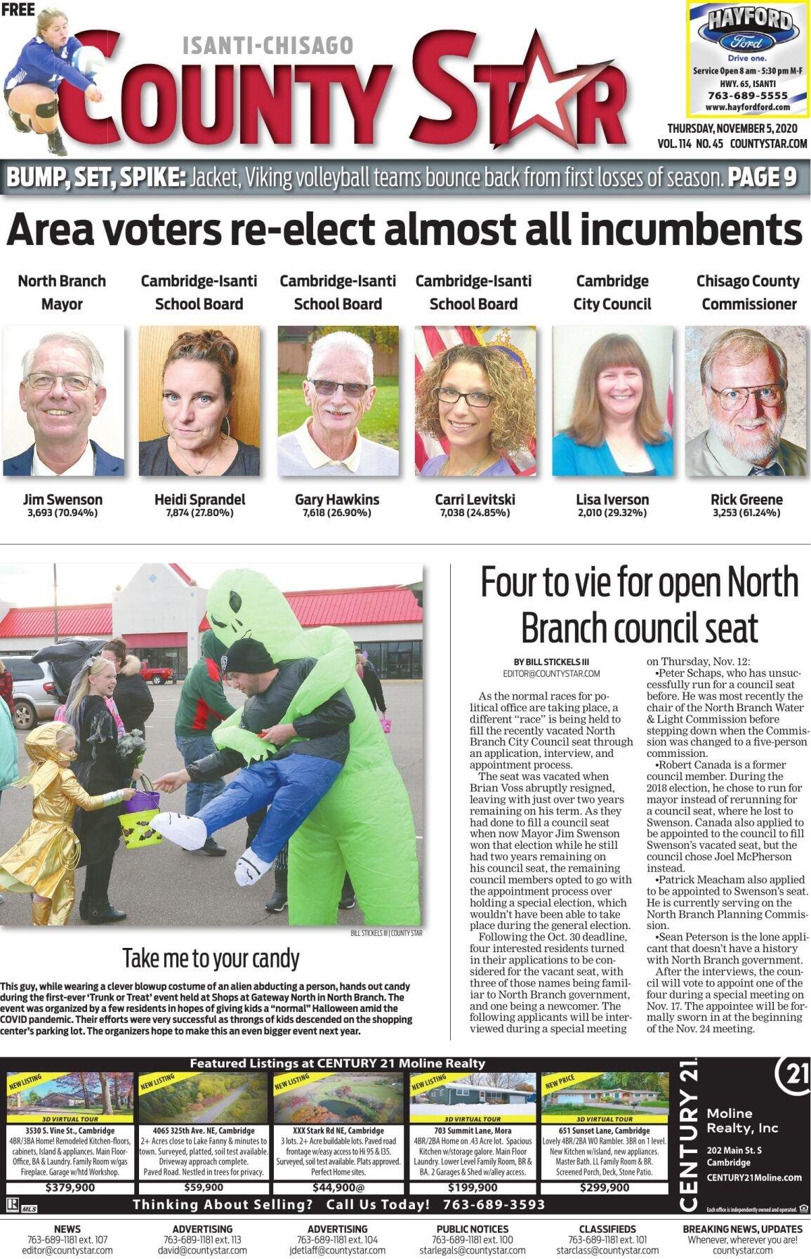 Isanti-Chisago County Star November 5, 2020 e-edition