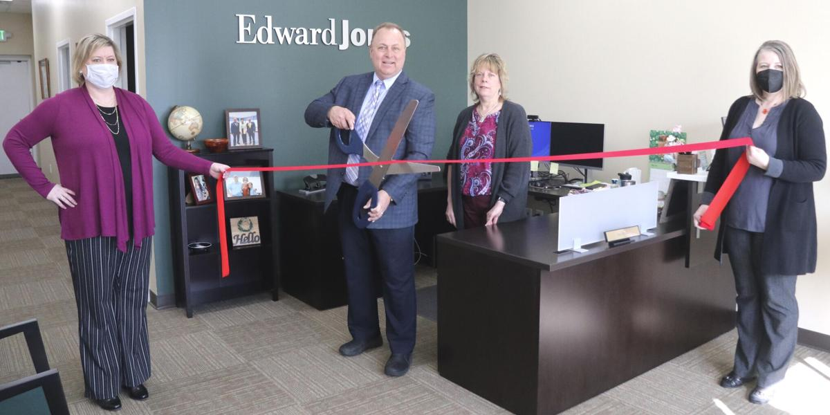 Isanti office of Edward Jones commemorates opening