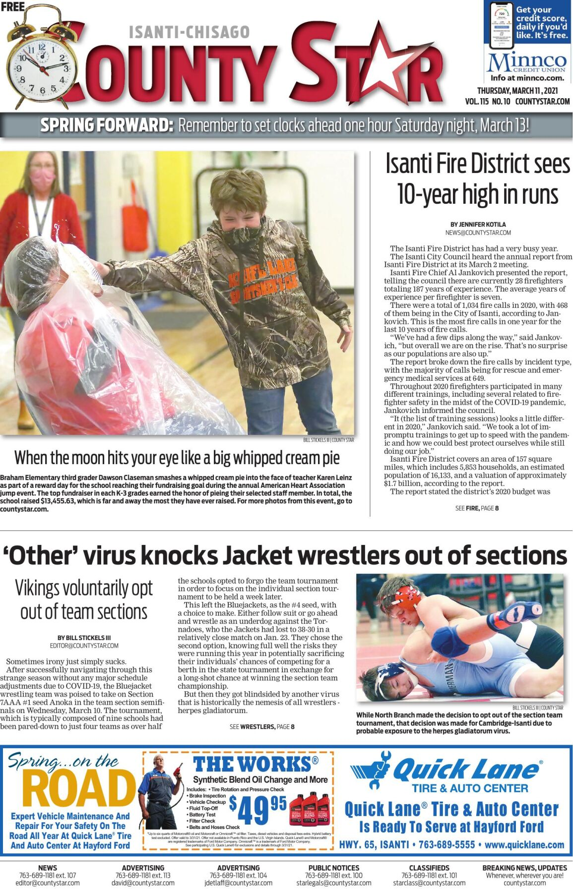 Isanti-Chisago County Star March 11, 2021 e-edition