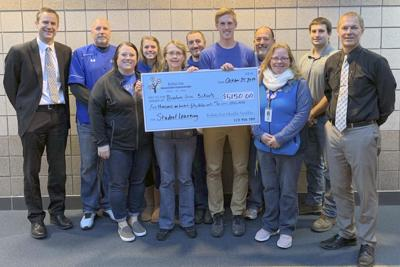 Braham foundation gives over $5,000 to teachers