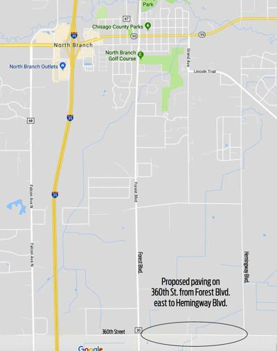 High-traffic North nch road to be paved | News | isanti ... on