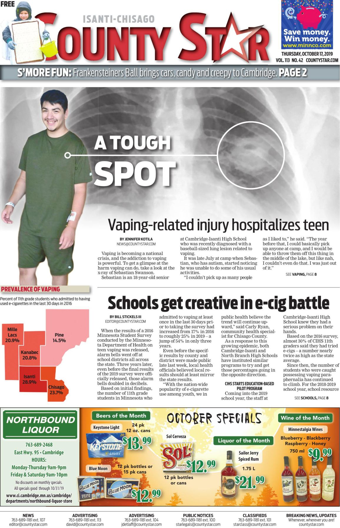 Isanti-Chisago County Star e-edition October 17, 2019