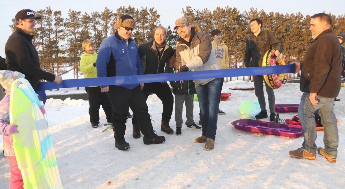 'Grand opening' of new Isanti sledding hill