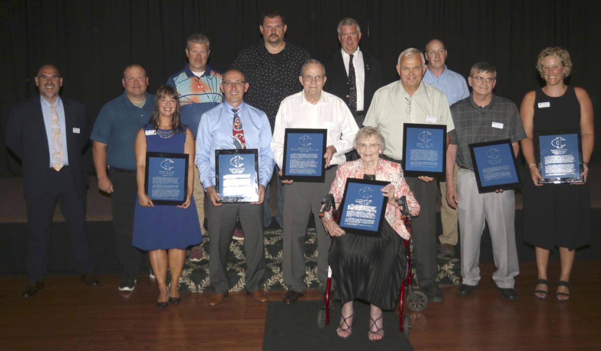 Newest C-I Hall of Famers officially inducted