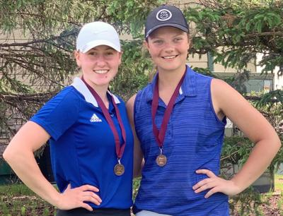 Bluejacket girls golf sends two to state