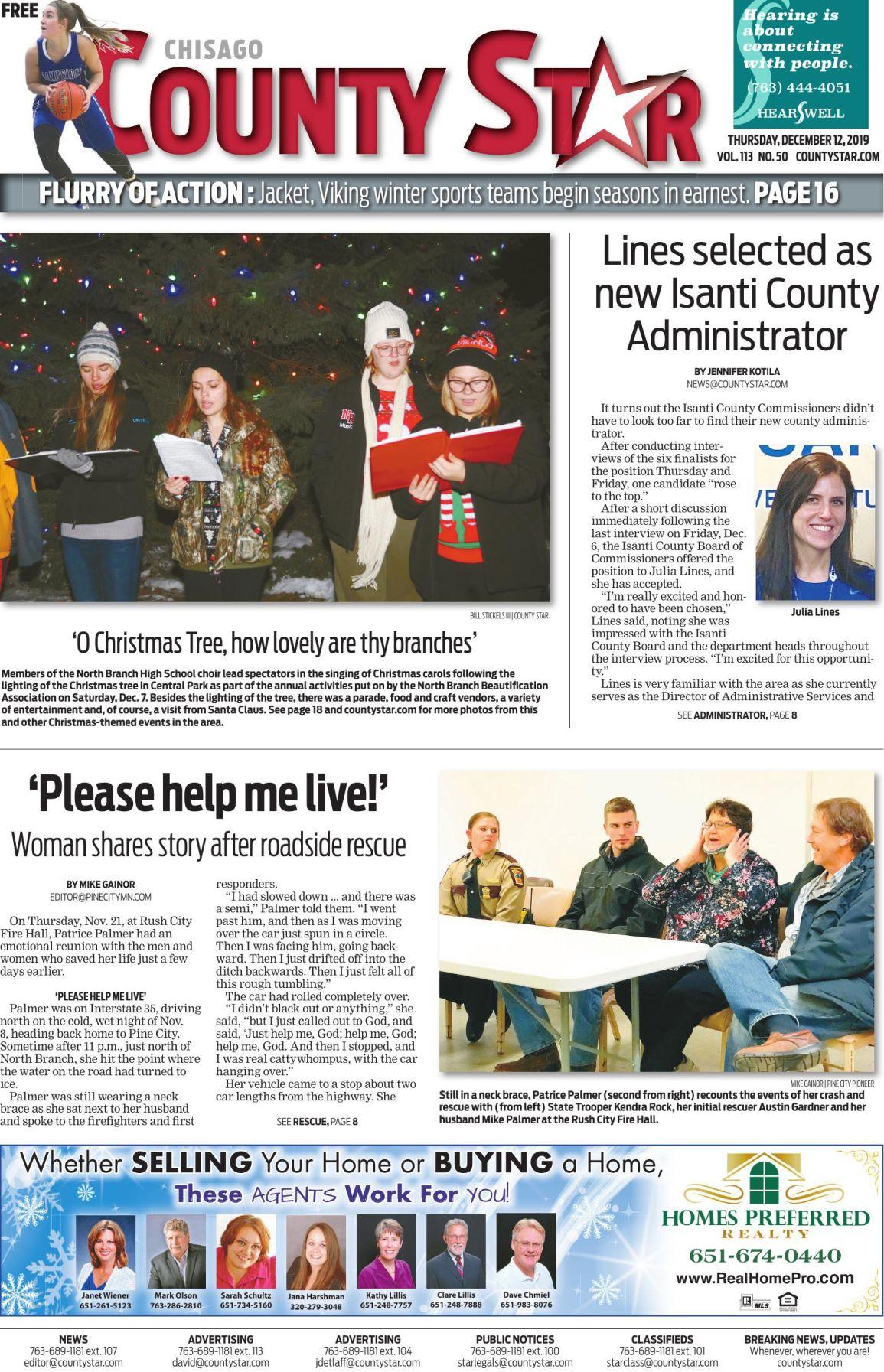 Chisago County Star December 12, 2019 e-edition