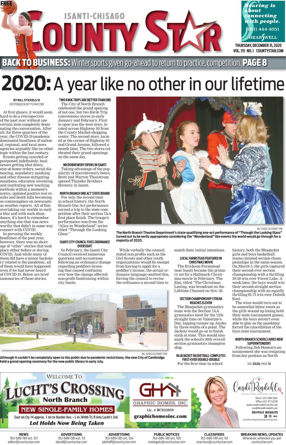 Isanti-Chisago County Star December 31, 2020 e-edition
