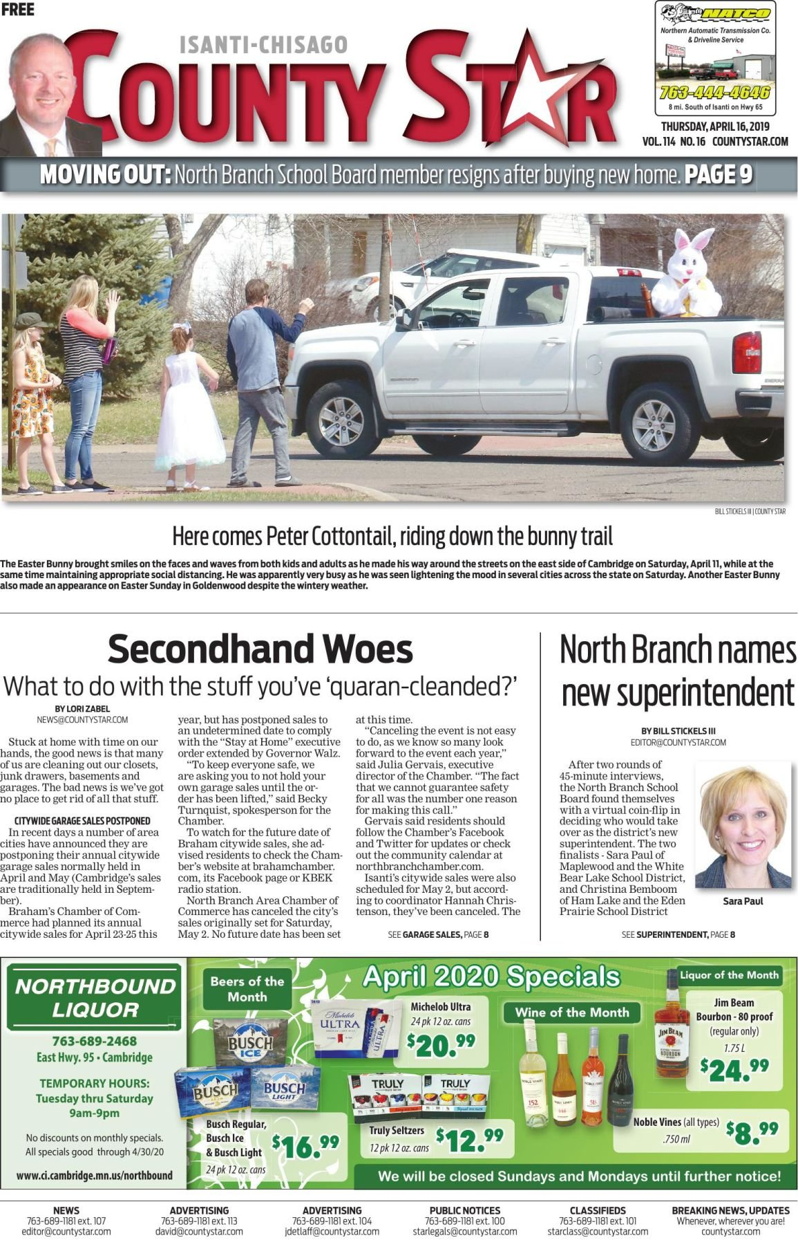 Isanti-Chisago County Star April 16, 2020 e-edition