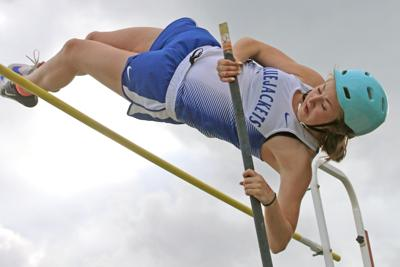 Sophomore soaring to new heights in C-I record books