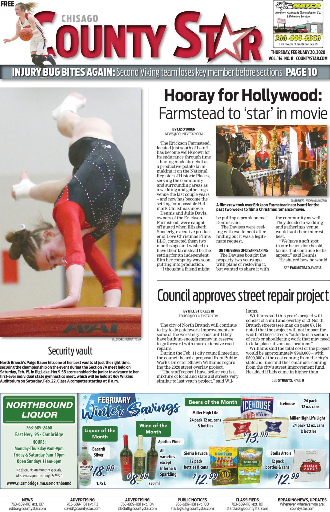 Chisago County Star February 20, 2020 e-edition