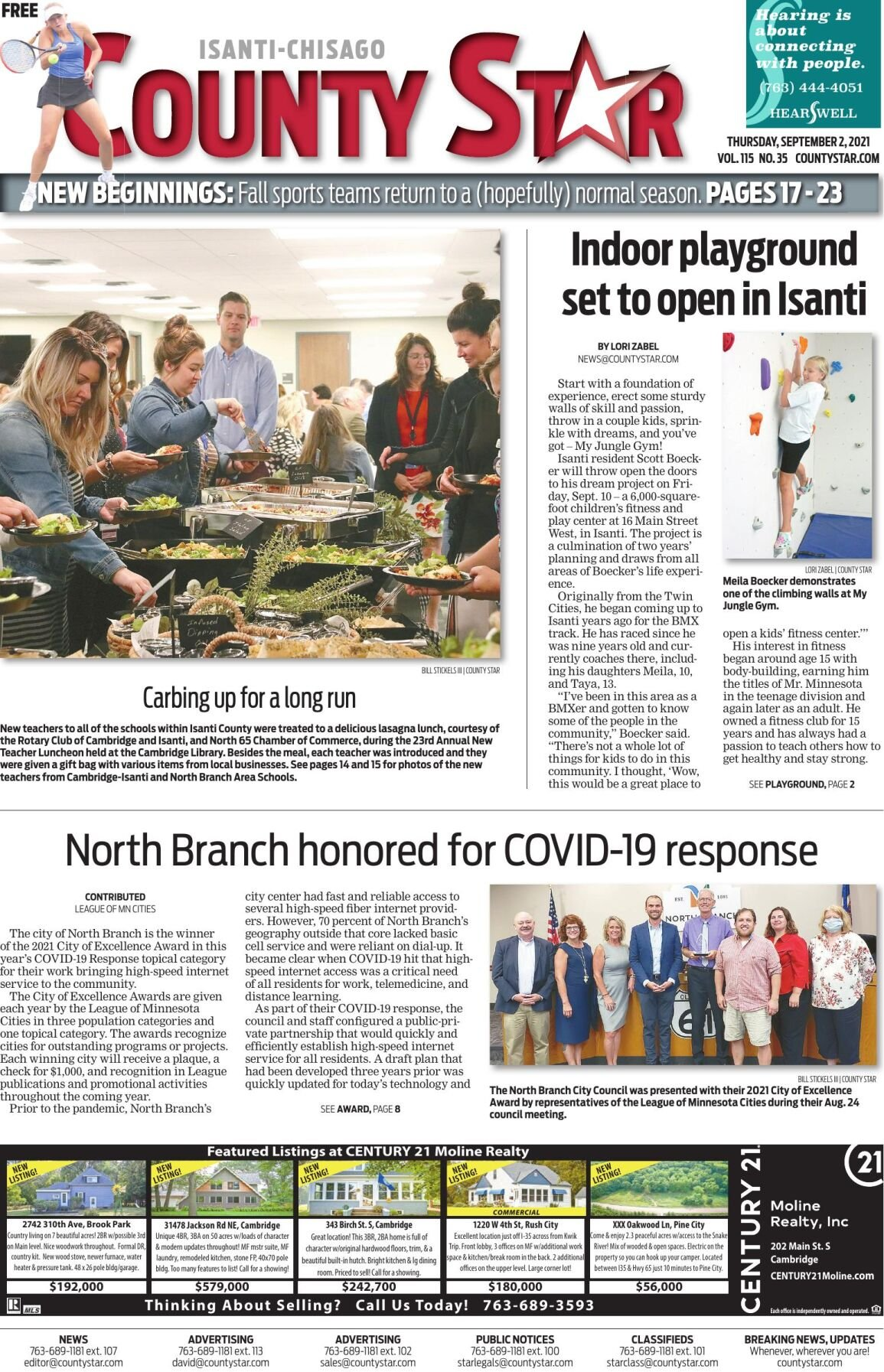Isanti-Chisago County Star September 2, 2021 e-edition