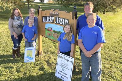 Mallery Jerseys Named Outstanding Conservationists in 2020