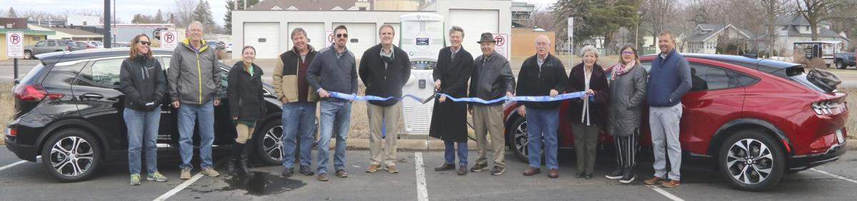 North Branch Water & Light installs electric vehicle charging stations