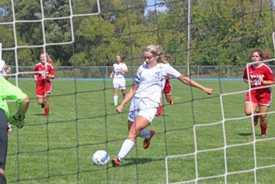 Going back on the offensive: Position change boosts successful start to Jacket girls soccer season