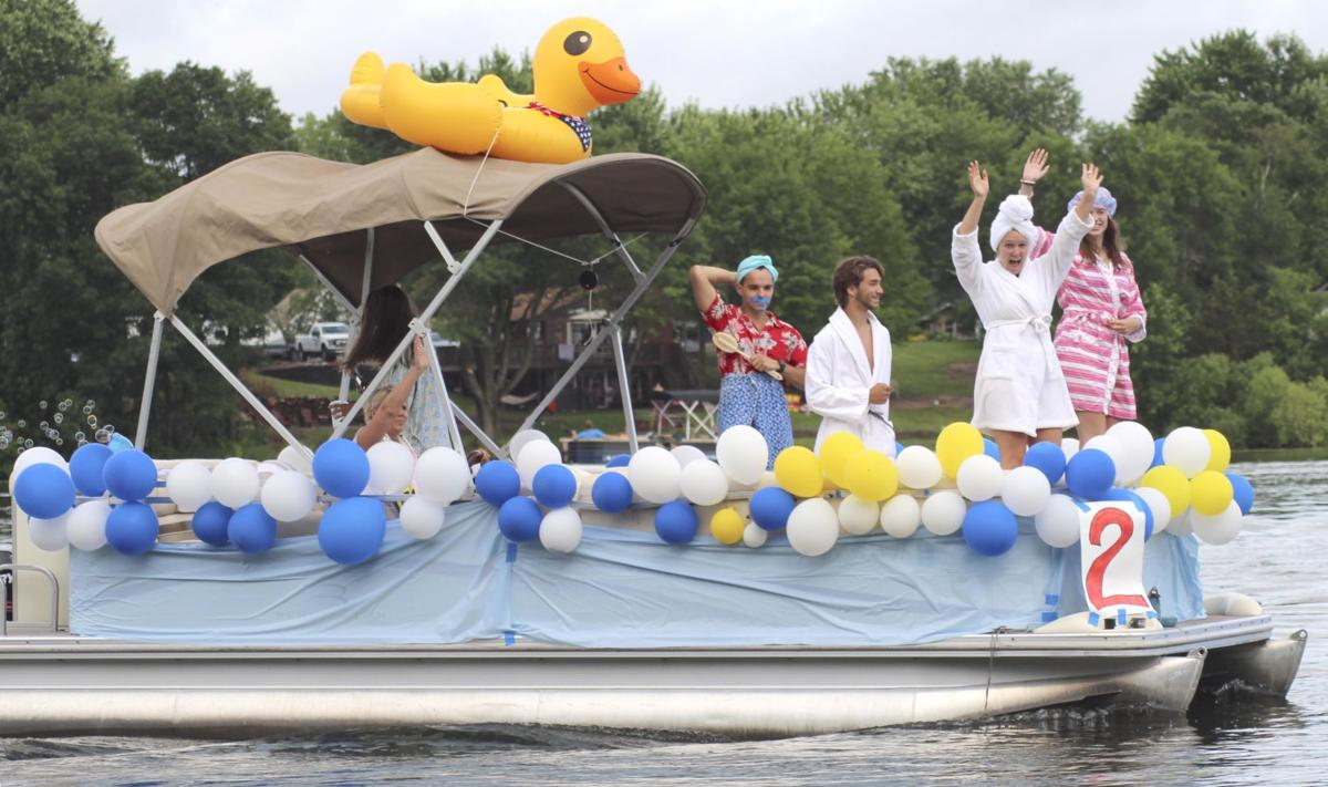 Making waves with the annual Skogman Lake boat parade