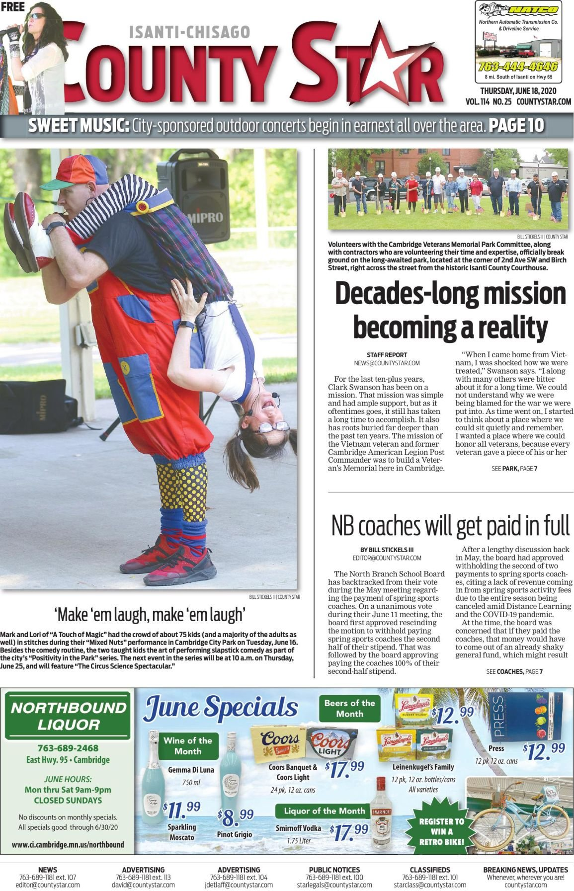 Isanti-Chisago County Star June 18, 2020 e-edition
