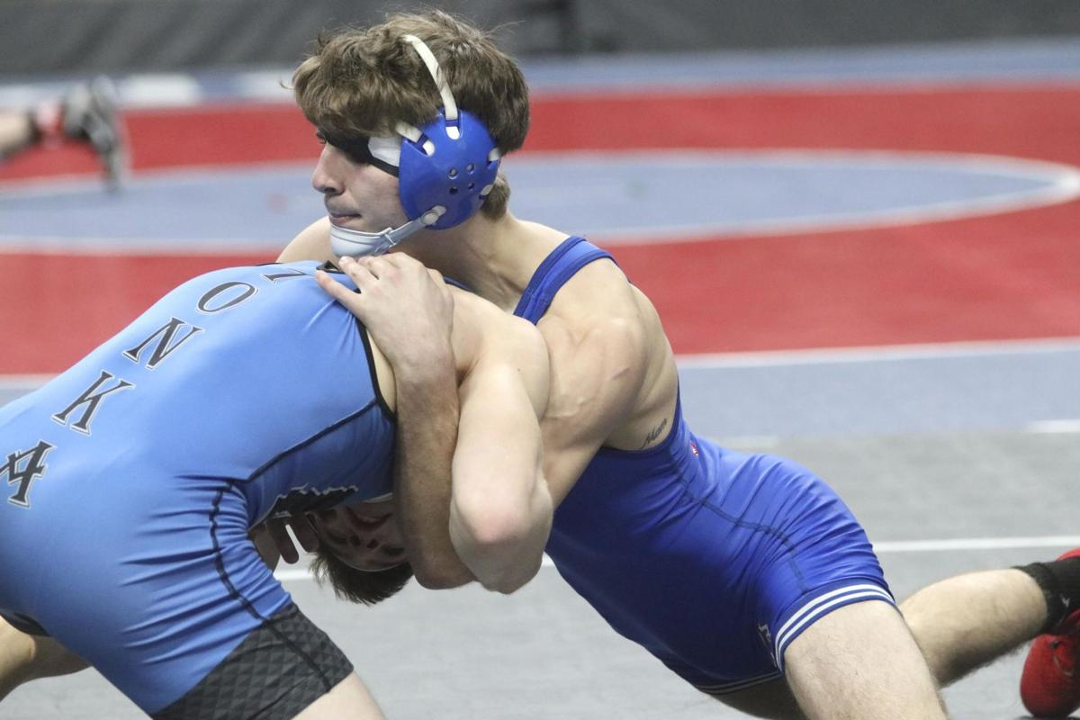 Wrestlers face stiff competition at state
