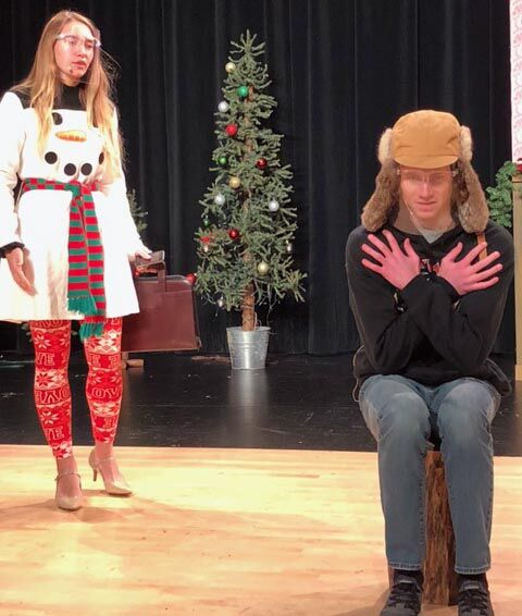 Looking for love in ugly sweaters:  North Branch play parodies holiday rom-coms