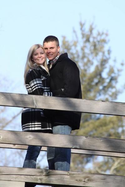 Grant Vonmoss and Emily Johnson