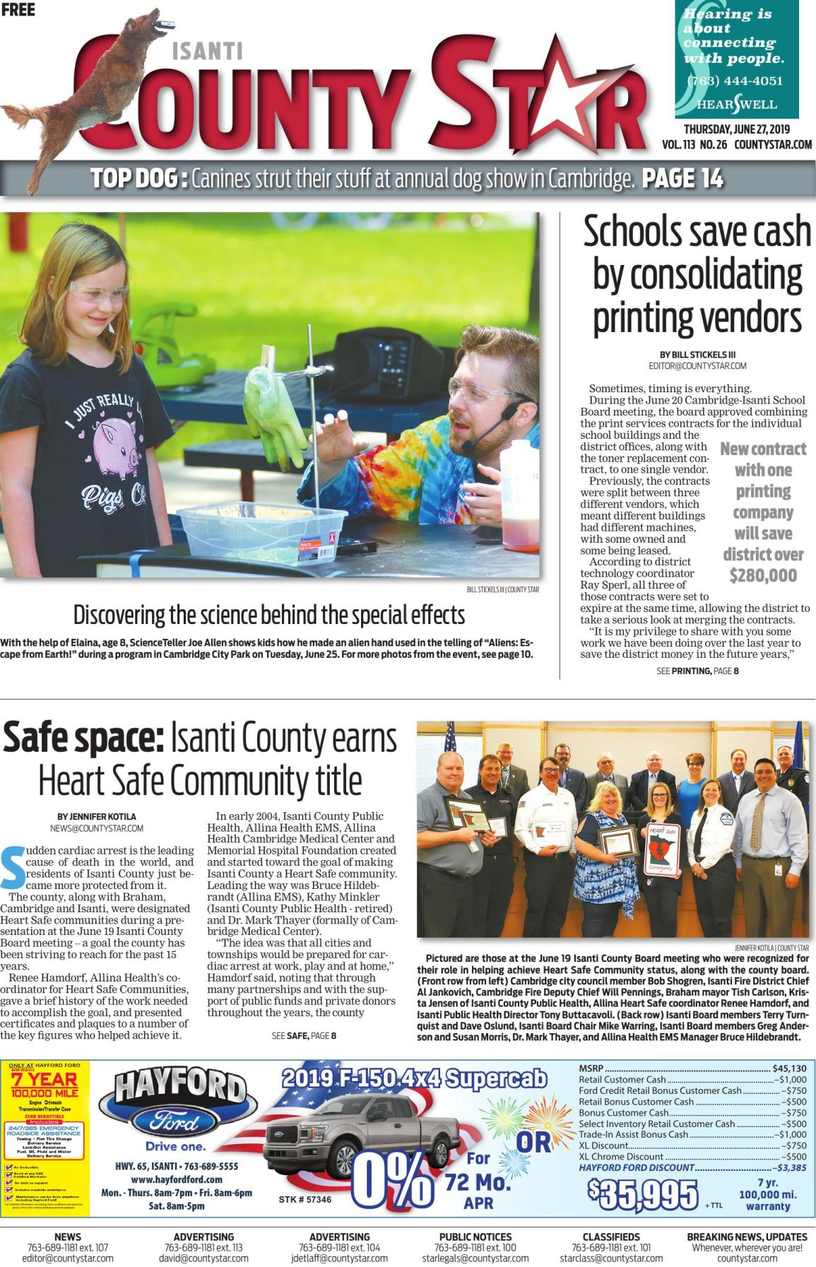 Isanti County Star e-edition June 27, 2019