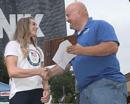 Isanti gives golden welcome home to Olympic Silver Medalist