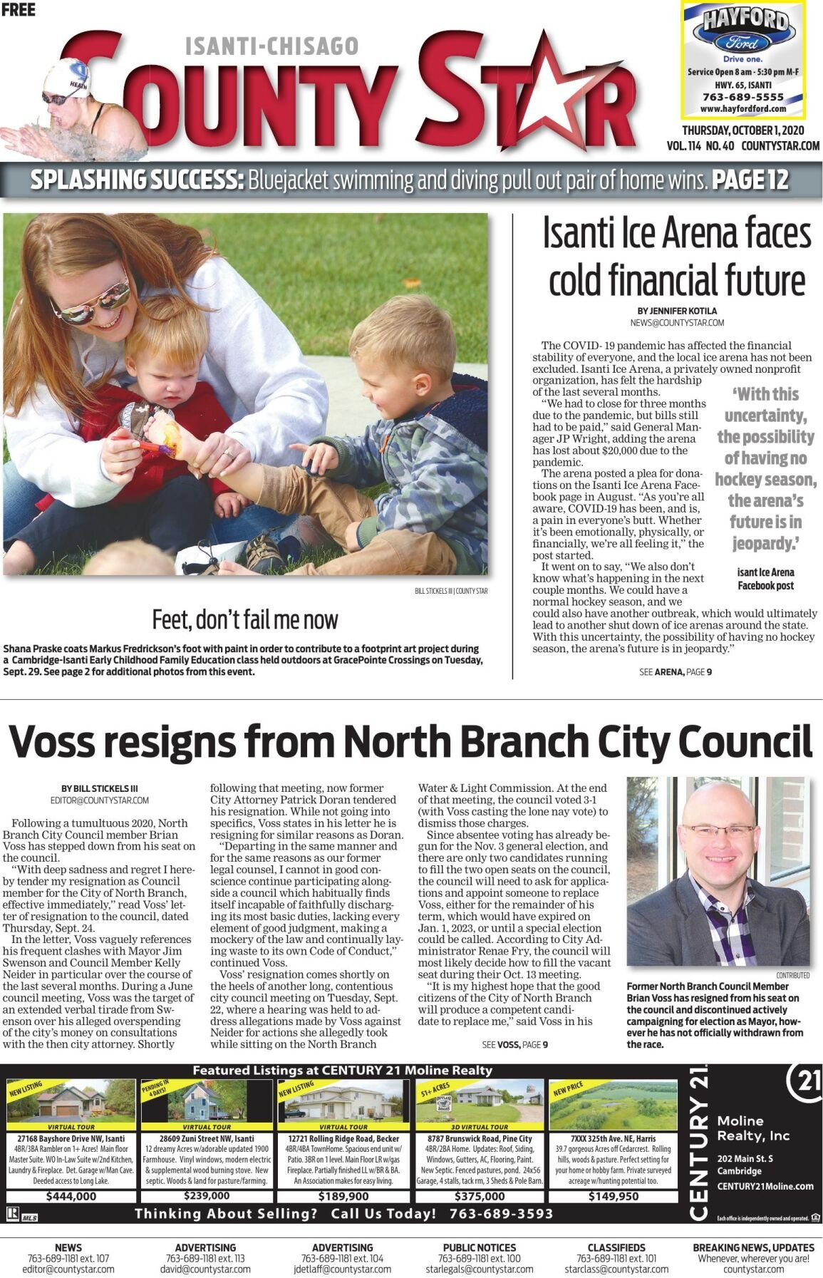 Isanti-Chisago County Star October 1, 2020 e-edition