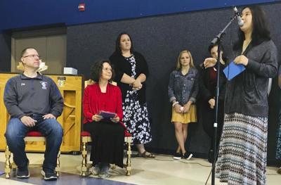 Cambridge Christian School  honors two long-time teachers